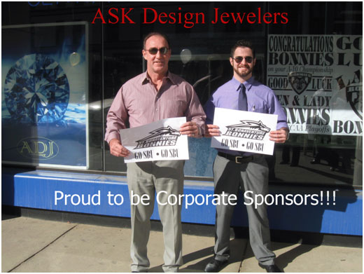 ADJ are Corporate Sponsers for the Men^s and Women^s Saint Bonaventure Basketball Teams